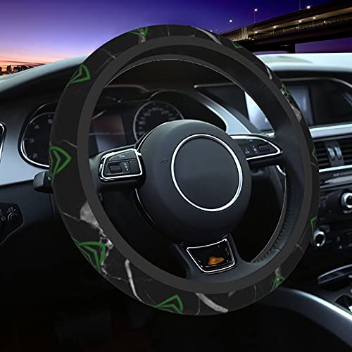 WLHSIN Celtic Car Steering Wheel Cover, Universal 15 Inch Car Accessories Steering Wheel Protector for Women Girls Men