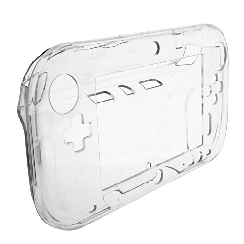 OSTENT Protective Clear Crystal Hard Case Cover Skin Shell Compatible for Nintendo Wii U Gamepad