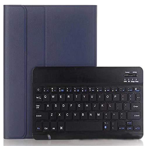 longeg Caja del Teclado de la Tableta para la pestaña Galaxy A7 SM T500 Teclado + Conjunto de Estuches Protectores SM T500 10.4 Pulgadas Teclado Bluetooth