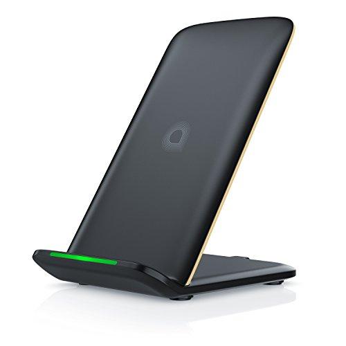 CSL - 10W Power Ladegerät kabellos Fast Wireless Charger - Induktionsladegerät mit Qi - intelligentes Laden - Ladegerät kompatibel mit Samsung S9 S8 S8 S7 iPhone 8 8 Plus iPhone X