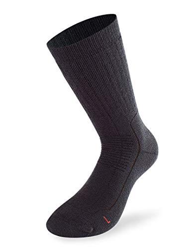 Lenz Trekking 6.0 Sokken 45-47 zwart