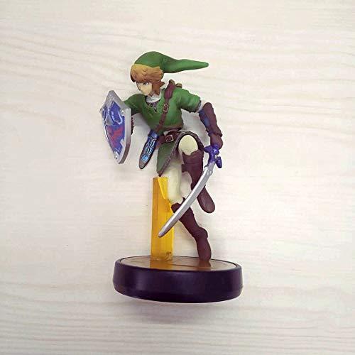 XINHANG Zelda Modellspielzeug Amiibo Super Smash Bros. Shulk Zelda Modell Charakter Spiel Figurensammlung Geschenke Spielzeug Fertigerzeugnisse Keine Box Lose Peripheriegeräte