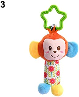 Anniston Kids Toys, Kids Baby Infants Handbell Bed Stroller Hanging Cartoon Animal Plush Rattle Toy Baby Toys Perfect Fun ...