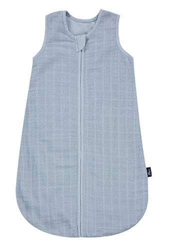 Alvi Mull-Schlafsack Uni-blau 110