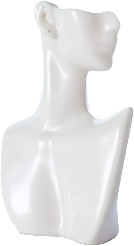 Jewelry Towers White Display Necklace Earring Max Reservation 67% OFF and Bust