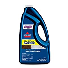 Every BISSELL purchase helps save pets. BISSELL proudly supports BISSELL Pet Foundation and its mission to help save homeless pets. Cleans and sanitizes, eliminating 99.9% of bacteria.* Removes tracked in dirt, grime, mud, and tough pet messes from s...