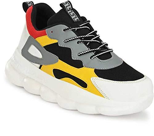 Arivo Men's Mesh Multi-Colored Ultralight Sports Running Jogging Walking Shoes