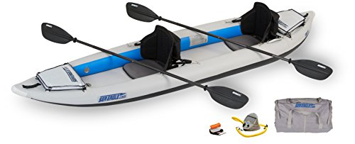 Buy Discount Sea Eagle 385FT Fasttrack Inflatable Kayak Pro Package