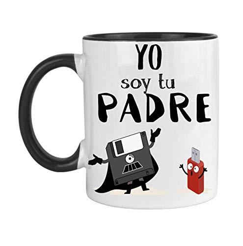 FUNNY CUP Taza Dia del Padre. Yo Soy tu Padre. Regalo Divertido para s