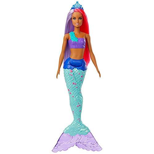 Boneca Barbie Dreamtopia Sereia - Cauda Azul - Mattel