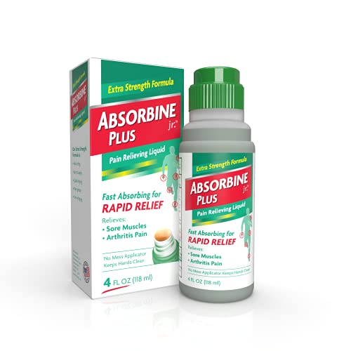 Absorbine Jr. Pain Relieving Liquid with Menthol -...