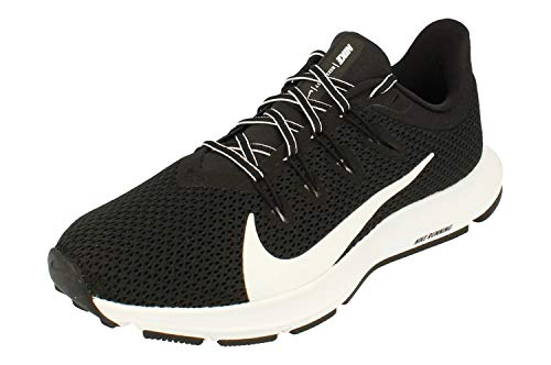 Nike Women's Quest 2 Running Shoes, (Size 7.5, Black/White)