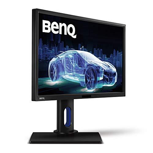 BenQ BL2420PT Monitor per Designer, Display da 24 Pollici, Risoluzione 2560 x 1440 QHD, 2 Porte USB, Nero