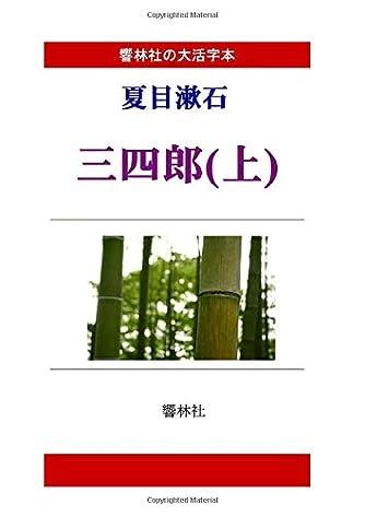 【大活字本】夏目漱石「三四郎(上)」(響林社の大活字本シリーズ)