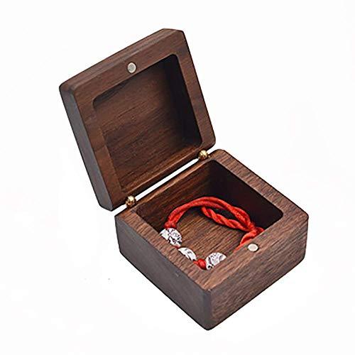 Hoge kwaliteit Houten Jewelry Box, Vintage Planken Multifunctionele sieraden opbergdoos for Oorbelle (Color : C)