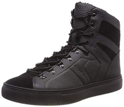 BOSS Herren Enlight_Hito_tbfu Hohe Sneaker, Schwarz (Black 001), 43 EU
