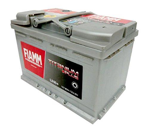 FIAMM Titanium Plus L380+, Batteria per Automobile, 80Ah, 730A, Polo Positivo a Destra