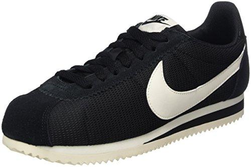 Nike Classic Cortez, Scarpe da ginnastica Donna, Nero (Black/Sail), 36 EU