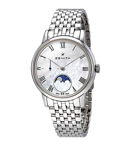 Zenith Elite Automatic Mother of Pearl Dial Ladies Watch 03.2320.692/81.M2320