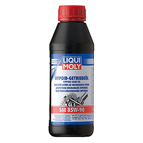 Liqui Moly 1404 Huile pour Engrenages Hypoid (GL5) SAE 85W-90-500ml