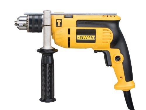 Dewalt DEWD024K DWD024KS 230 Volt Percussion Drill 13 mm with Kitbox, 701 W, Yellow/Black
