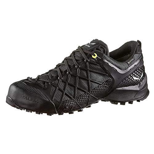 Salewa MS Wildfire Gore-TEX Zapatos de Senderismo, Black Out/Silver, 42.5 EU