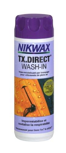 Nikwax TX.Direct Wash-in Imperméabilisant pour vêtements de pluie, en machine ou à la main - 300 mL