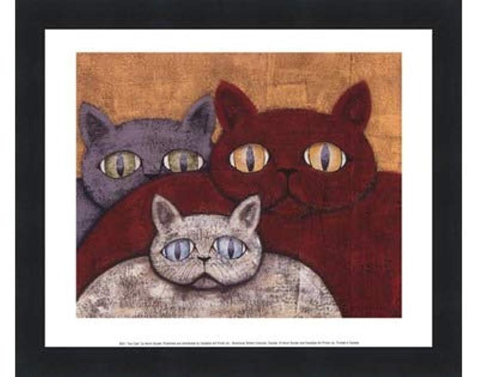 耳磁石めったにSun Cats by Kevin Snyder?–?11.75?X 9.5インチ?–?アートプリントポスター LE_57618-F101-11.75x9.5