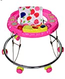 woxwell Baby Walker for Boys and Girls with Music and Light cat Model for Your Child Kids Walkers 5-12 Months Baby (c Pink)