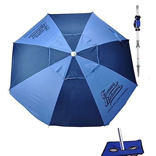 Tommy Bahama 7 ft Fiberglass Beach Umbrella for...