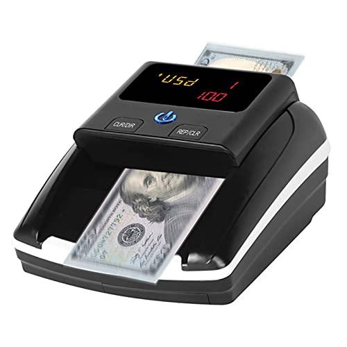 Kstyhome Mini contatore di denaro portatile Rilevatore di banconote contraffatte Rilevamento automatico di denaro tramite U-V MG Immagine IR Qualità...