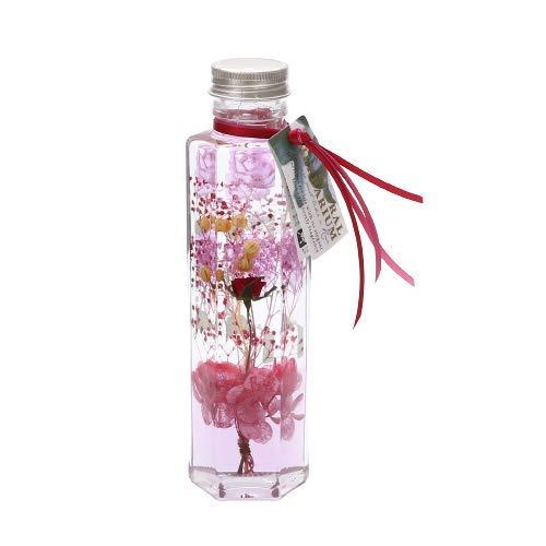 [ アフタヌーンティー リビング ] AfternoonTea LIVING 人工観葉植物 GP67 日比谷花壇 フラワー ハーバリウム M ピンク