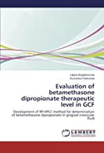 Evaluation of betamethasone dipropionate therapeutic level in GCF: Development of RP-HPLC method for determination of betamethasone dipropionate in gingival crevicular fluid