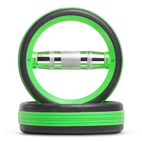 Hantel Ringe Hantel Ring Langhantel Gewichtheben Dual-Use Fitness Ring Yoga Kettlebell Home Männer und Frauen Fitnessgeräte (Farbe: D Größe: 13 5 kg * 2)