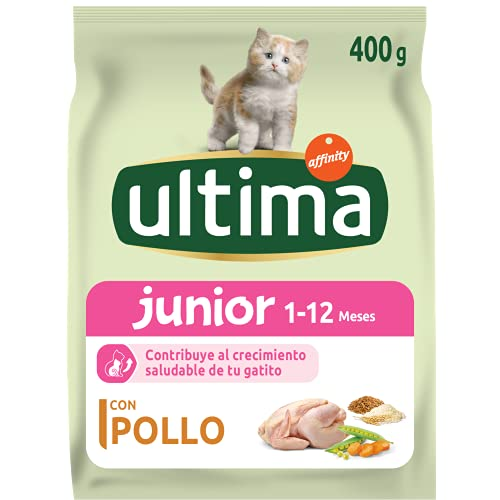 ultima Cat - Junior 2-12 Pollo & Arroz 400 gr ⭐