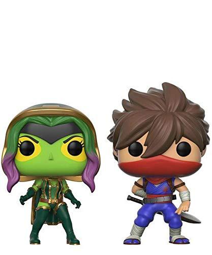 Funko Pop! Games – Marvel VS Capcom Infinite – Gamora vs Strider (2 unidades) – Figuras de vinilo de 10 cm Released 2017