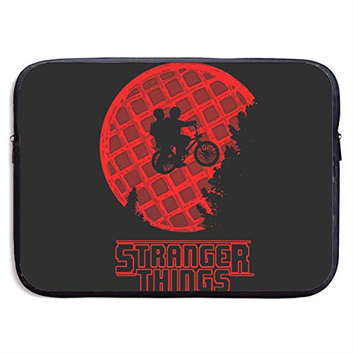 Stranger Things Laptop Sleeve Bag 13/15 Inch Notebook Computer, Water Repellent Polyester Protective Case Cover Theme Design Laptop