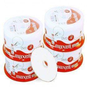 Maxell DVD-R 4.7 GB / 120 min, 16x, fullprintable, 200 Stück in Cakebox