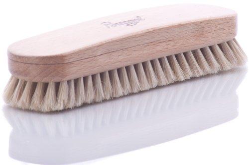 Burgol Rosshaar-Polierbürste, hell, 15 mm Haarlänge, Handeinzug