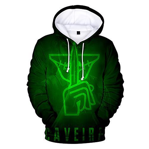 IDEALcos Spiel Rainbow Six Siege Tom Cosplay Hoodie Sweatshirt Kostüm Halloween Zipper/Pullover Jacke (S, Farbe 7)