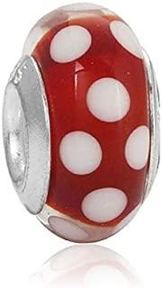 Soldes dhiver id/ée Cadeau Charm Coeur Royal Bleu Charms Perles Bracelets compatibles Toutes Marques