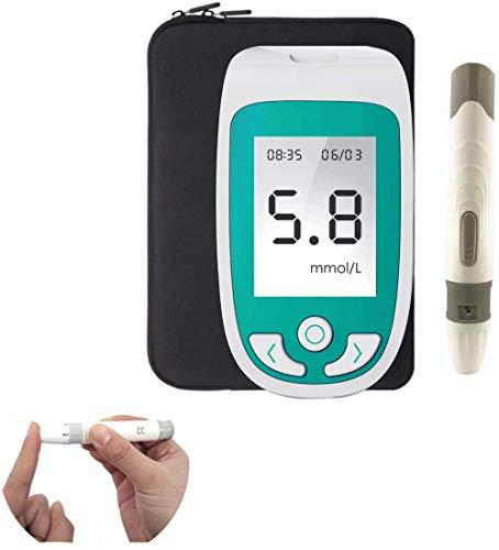 Oximeter 3 en 1 Multi-función de azúcar en la Sangre, ácido úrico, colesterol Monitor, la Tira de Prueba Analizar