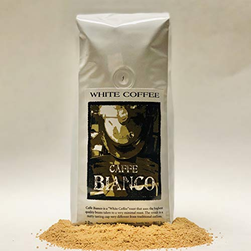 Caffe Appassionato Ground White Coffee, Caffe Bianco, 2 Lb