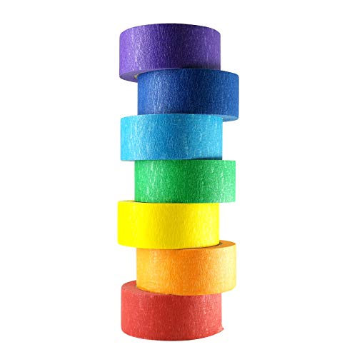 Colored Masking Tapes, 1 Inch Colored Painters Tape for Arts Crafts, Drafting Tape, Craft Tape, Labeling Tape, Paper Tape, Masking Tape, Colored Tape, Colorful Tape, Artist Tape, Art Tape
