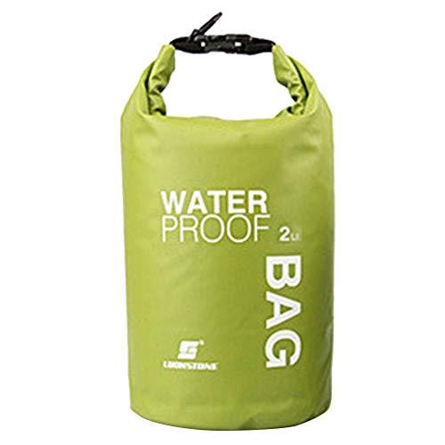 Domybest 2L Waterproof Nautical Waterproof Bag for Boating, Trekking, Kayaking, Canoeing, Rafting, Swimming, Camping Hiking, Fishing