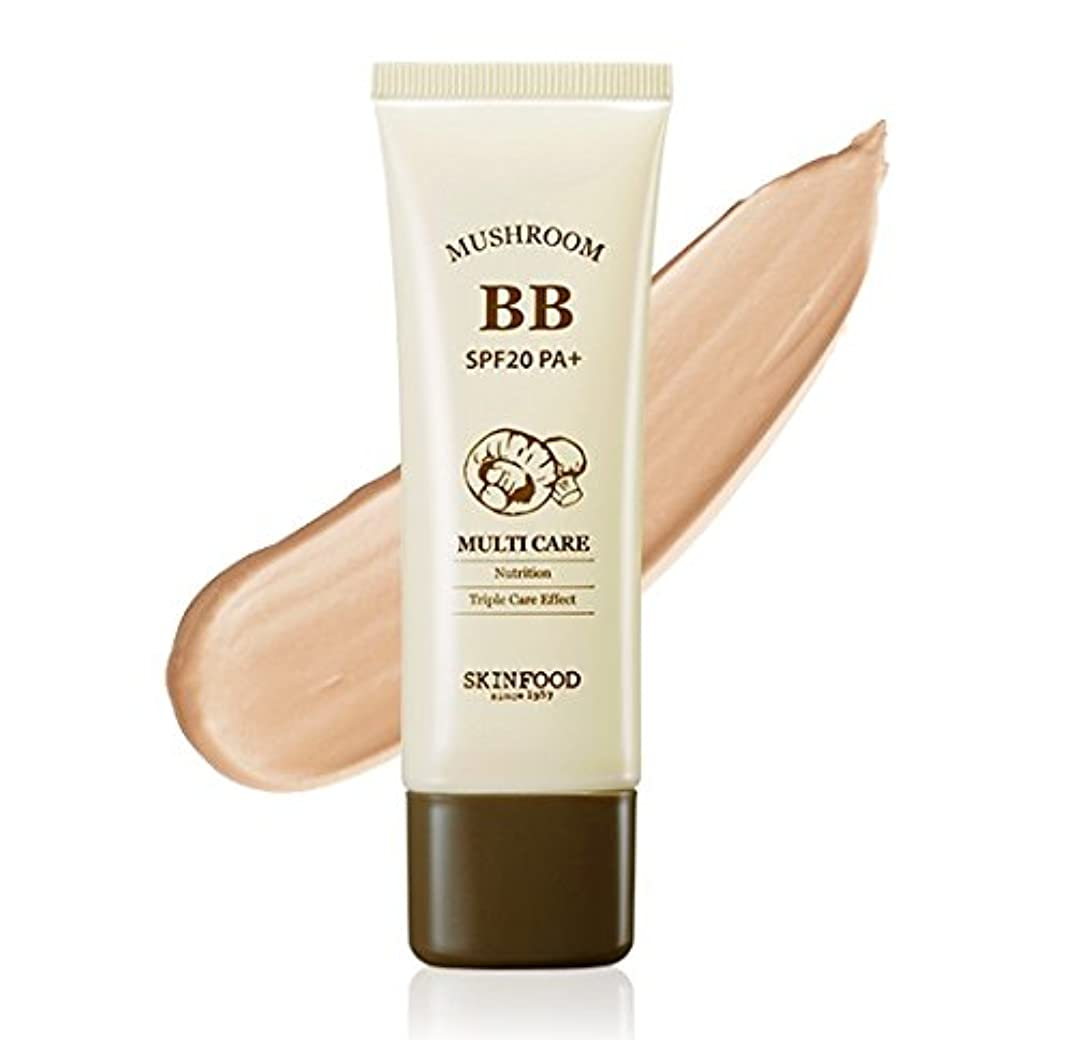 ご注意論理的に勘違いする#Bright skin SKINFOOD Mushroom Multi Care BB Cream スキンフード マッシュルーム マルチケア BB cream クリーム SPF20 PA+ [並行輸入品]