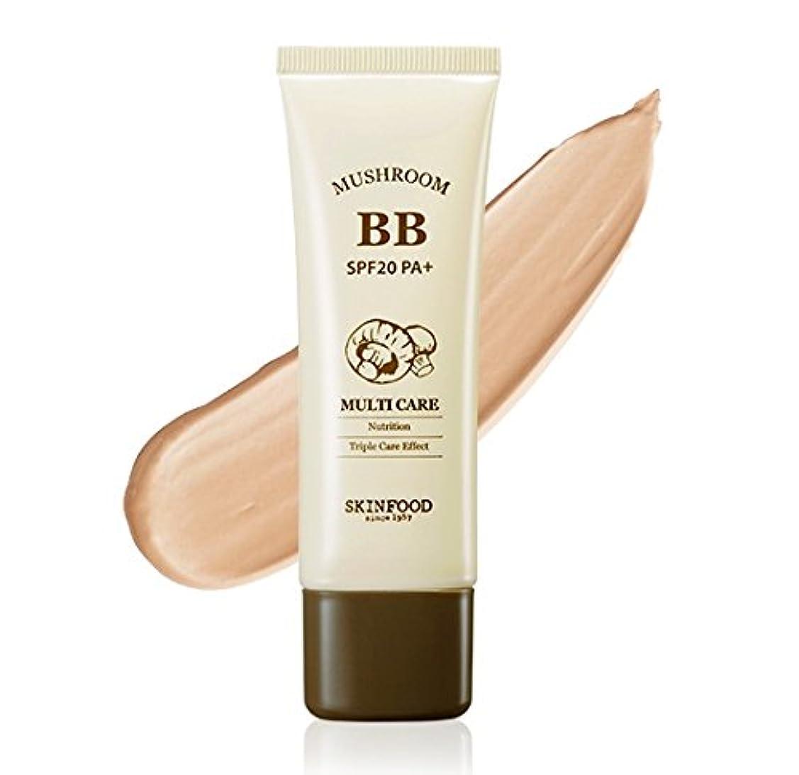 アリス発明衣装#Bright skin SKINFOOD Mushroom Multi Care BB Cream スキンフード マッシュルーム マルチケア BB cream クリーム SPF20 PA+ [並行輸入品]