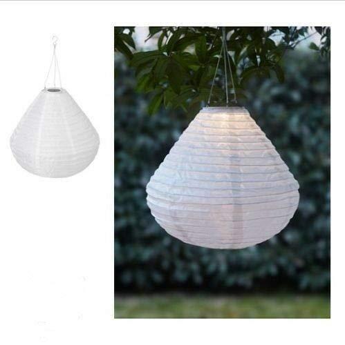 Solvinden Solar Hängeleuchte Ikea LED weiß 45cm XL Garten Lampe Deko