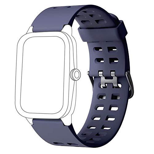 Yishark Correa de Repuesto para ID205 ID205L ID205S ID205U ID205G Smartwatch Reloj Inteligente Pulseras de Repuesto para ID205 ID205L ID205S ID205U ID205G Pulsera de Actividad Reloj Caloría Pasos