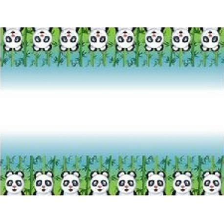 Neu: Tischdecke * SÜSSER Panda BÄR * als Deko zum Kindergeburtstag oder Mottoparty | 120 x 180cm | Table Cover